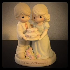 """A Year of Blessings"" Precious Moments figurine"
